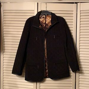 Dana Buchman Black Quilted Jacket